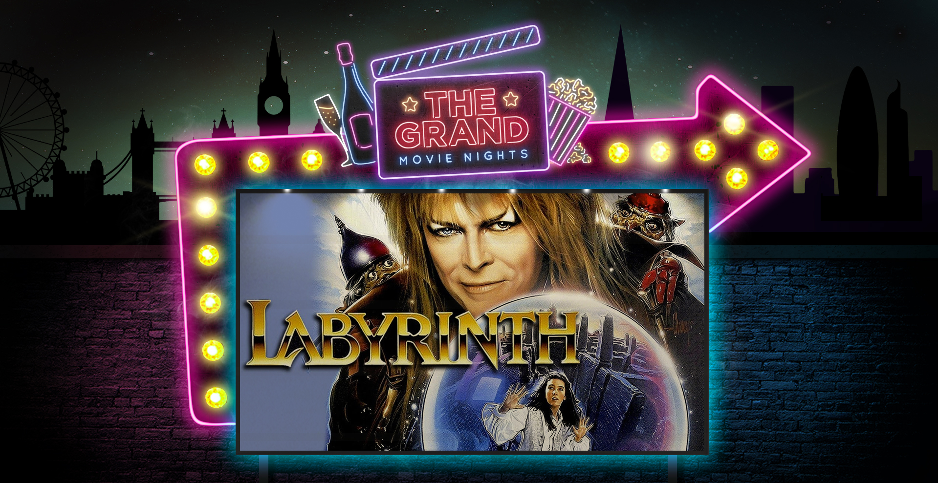Labyrinth - Movie Ball feat #1 Bowie Tribute Live | Clapham, London