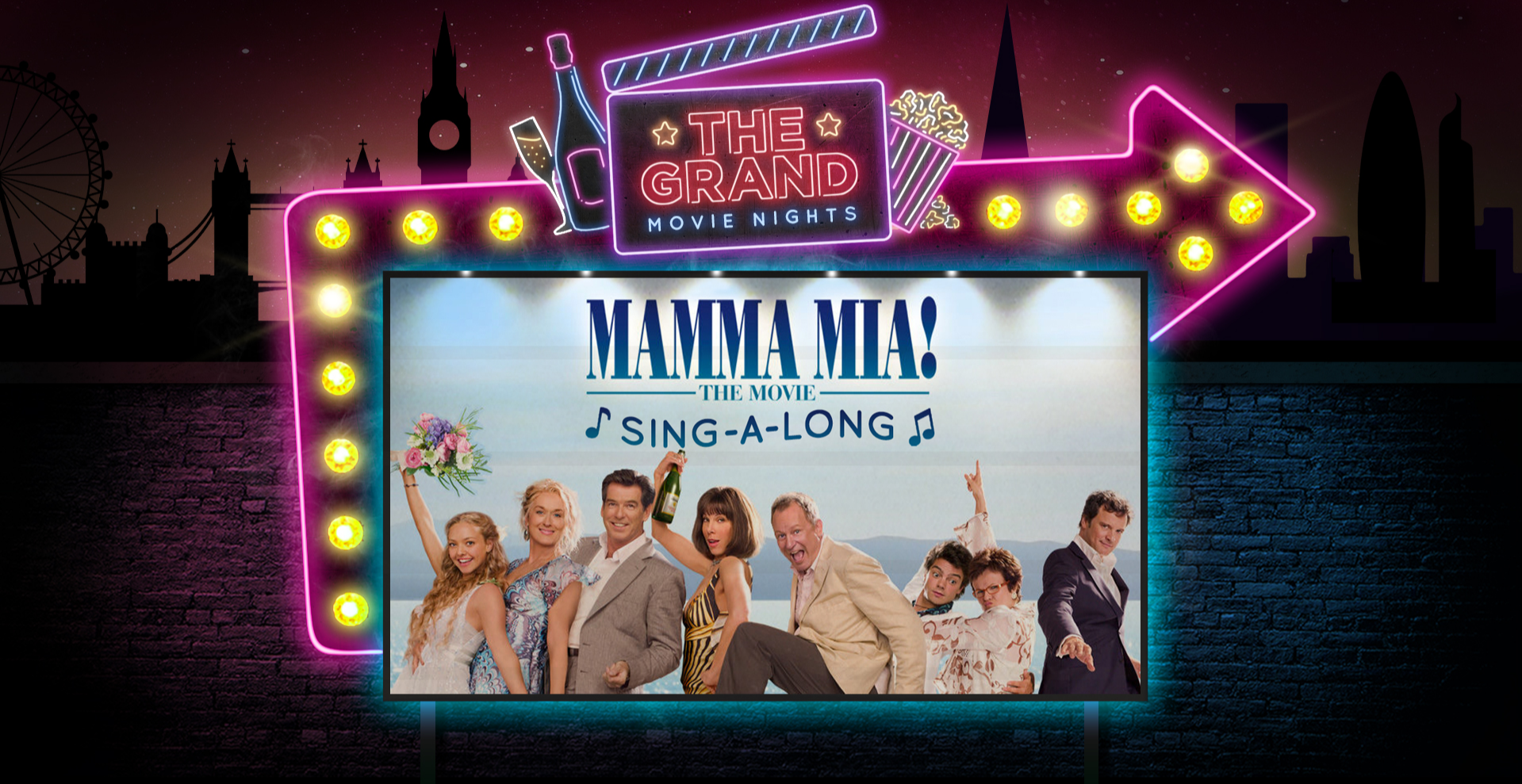 Mamma Mia Sing-A-Long Movie Night
