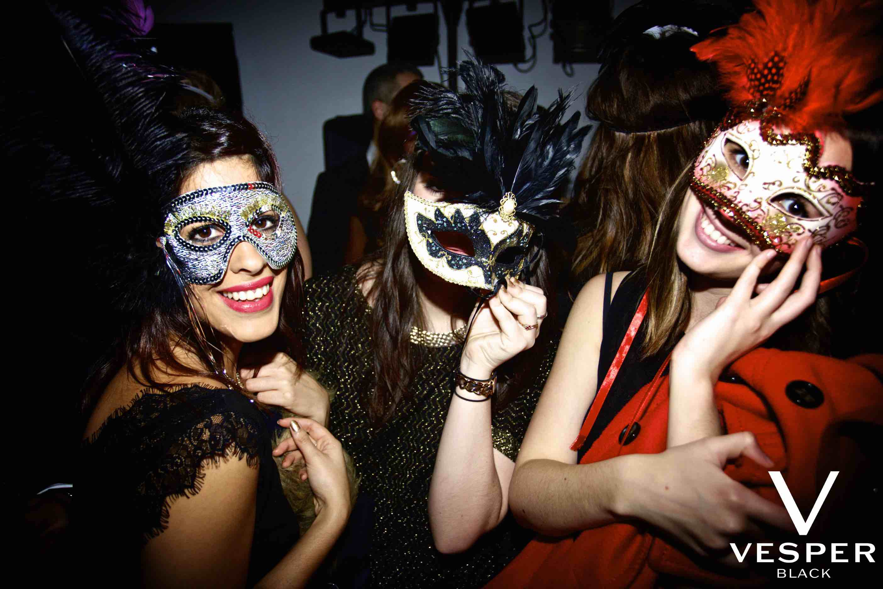 Masquerade Ball at The Famous Sanctum Hotel.