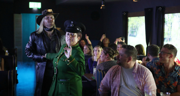 The Murder Express Dinner Theatre London