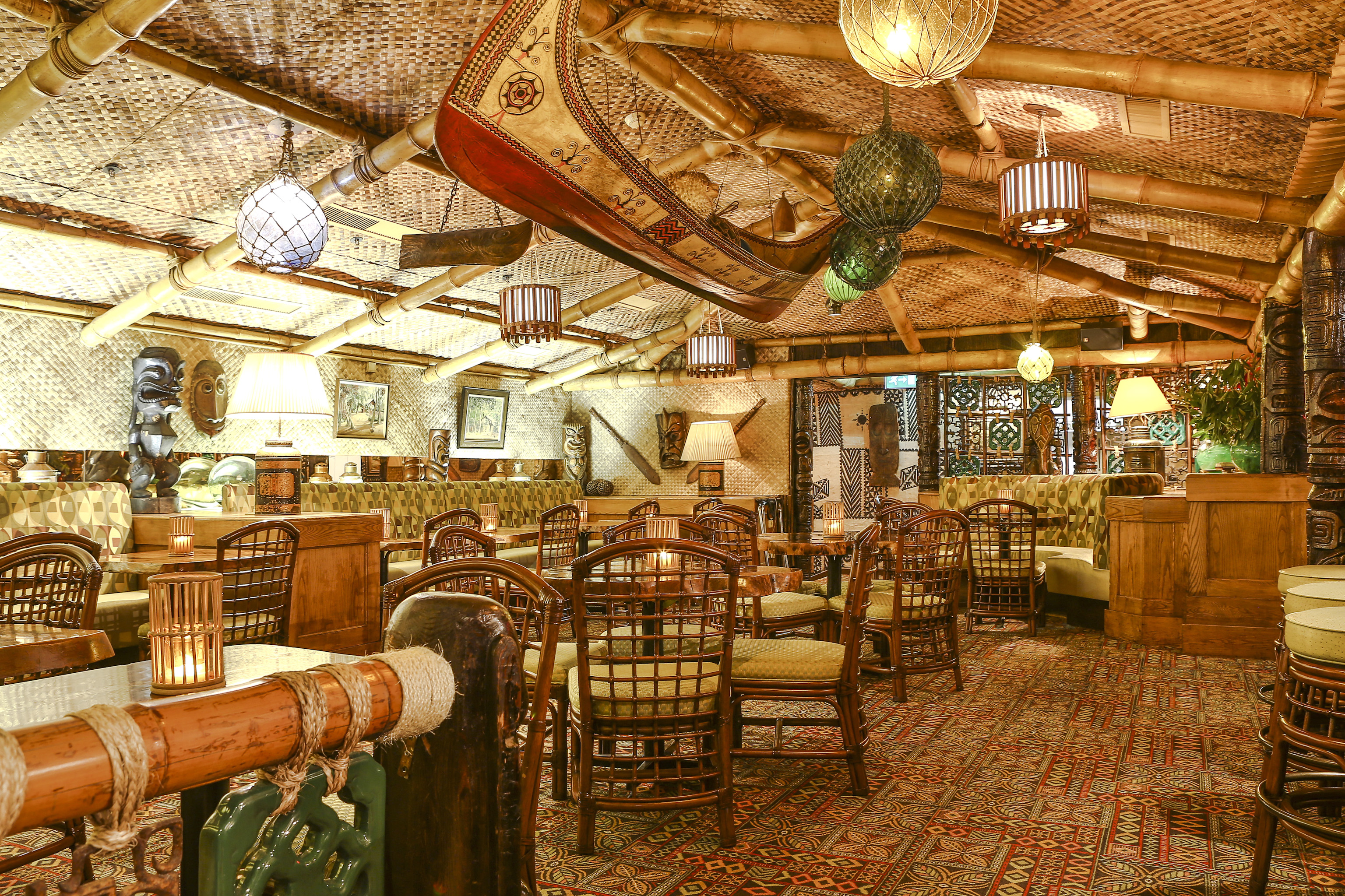 Bamboo Hut Restaurant Design