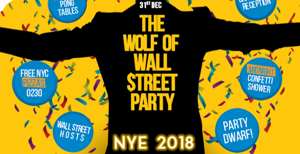 The Wolf of Wall Street Party