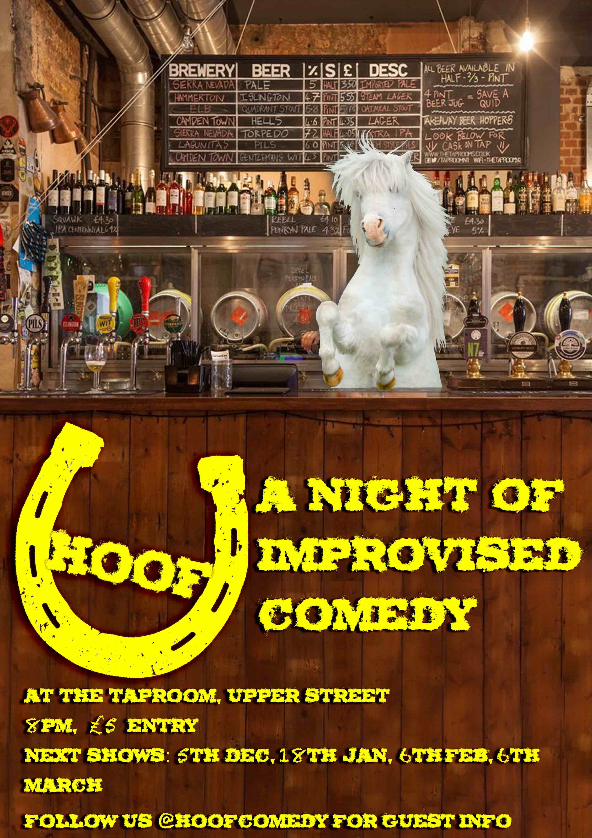 Hoof: A Night of Improvised Comedy