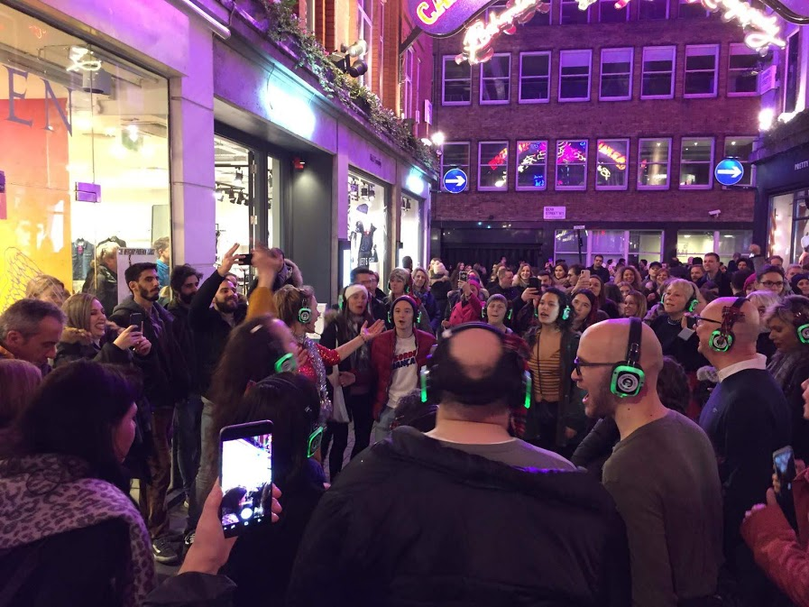 West End Jukebox Musicals Walking Silent Disco Party