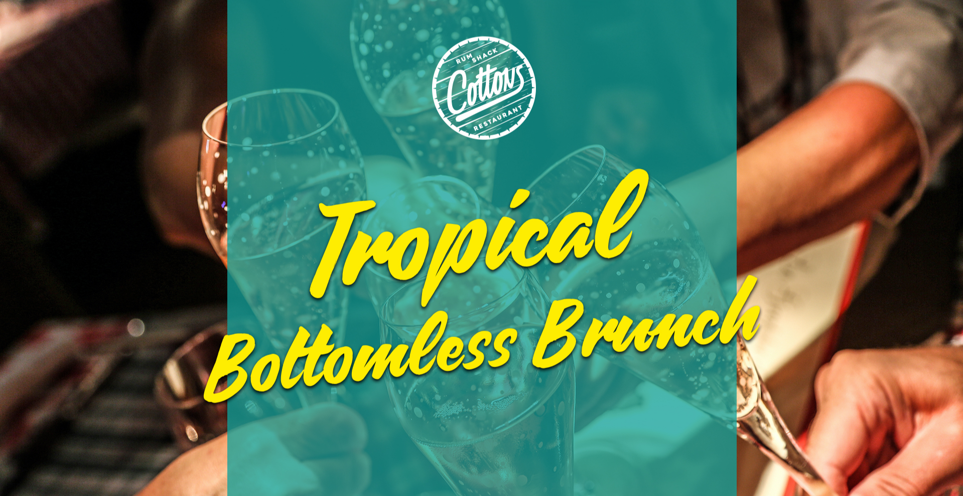 Cottons Tropical Bottomless Brunch