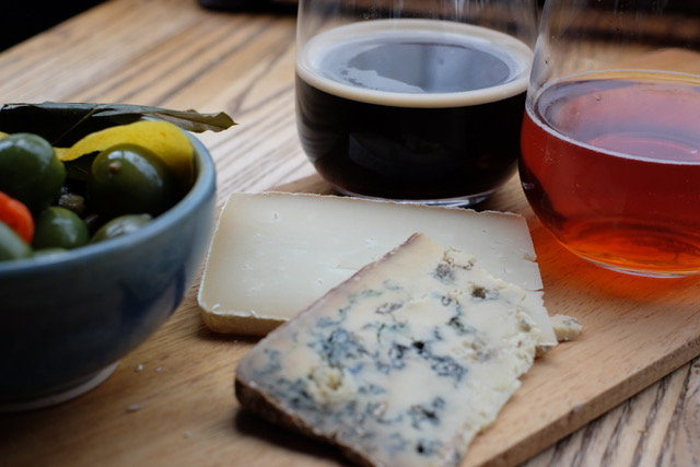CHEESE & BEER pairing experience with NEAL'S YARD DAIRY cheeses