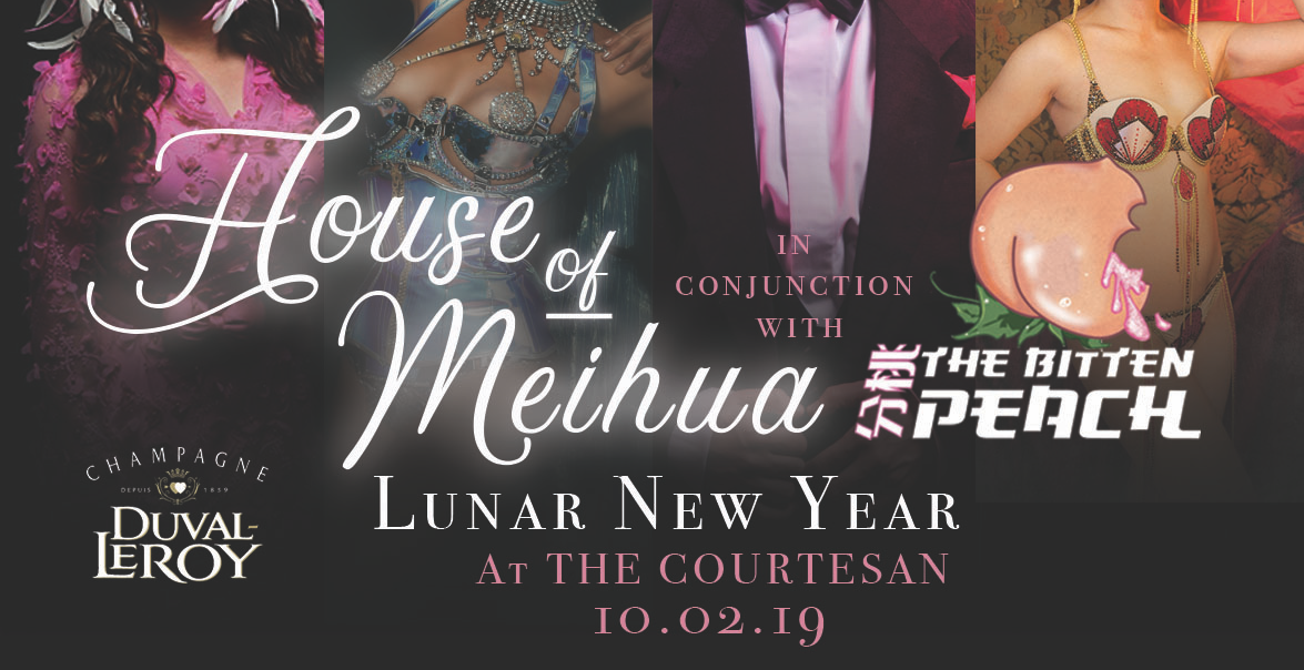 Lunar New Year Burlesque & Champagne