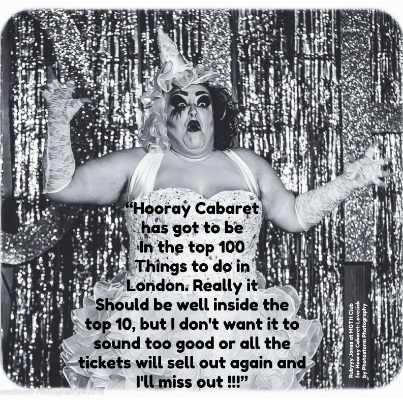 Hooray Cabaret: This Is Your Adventure