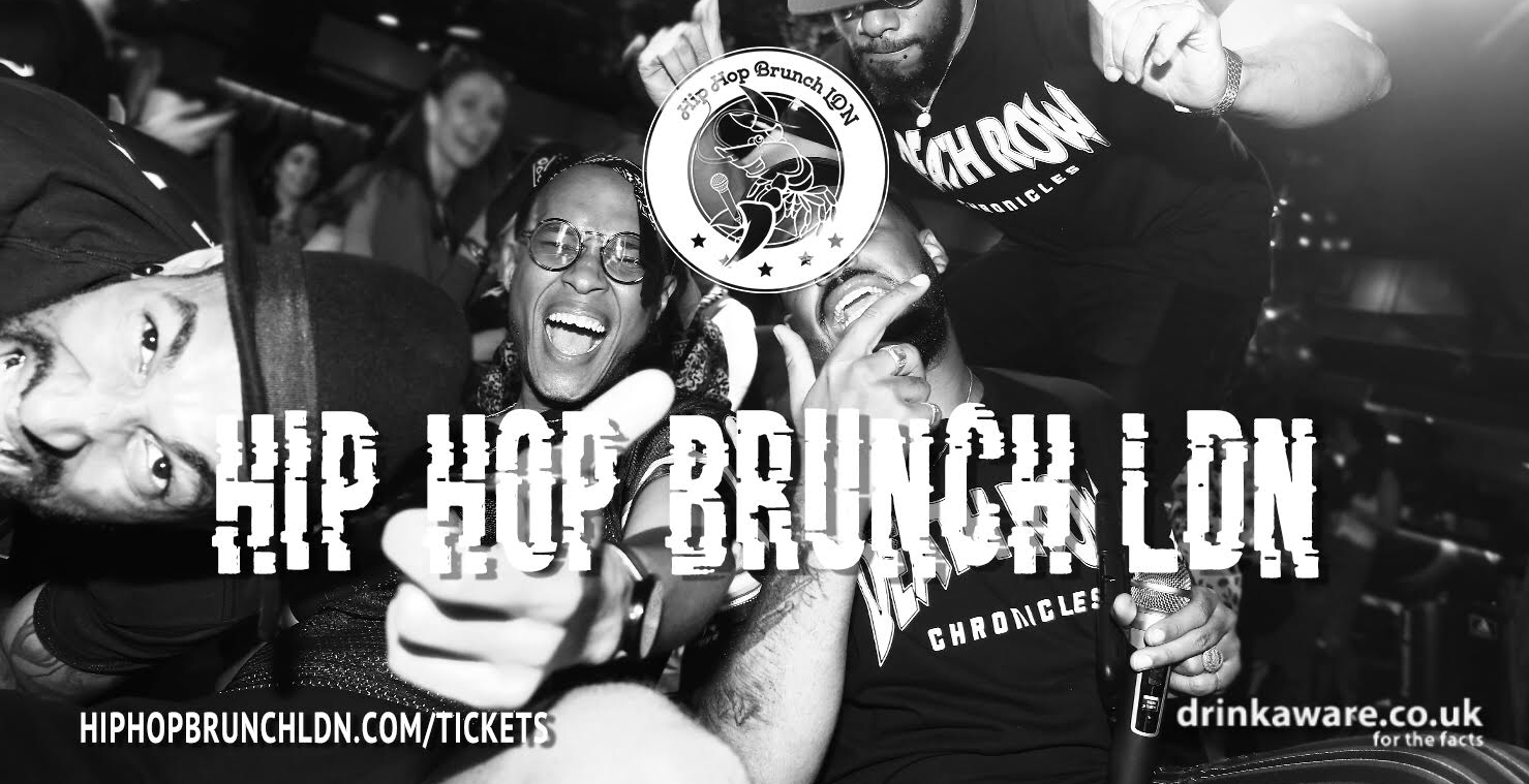 Hip Hop Brunch 7th September - RNB EDITION