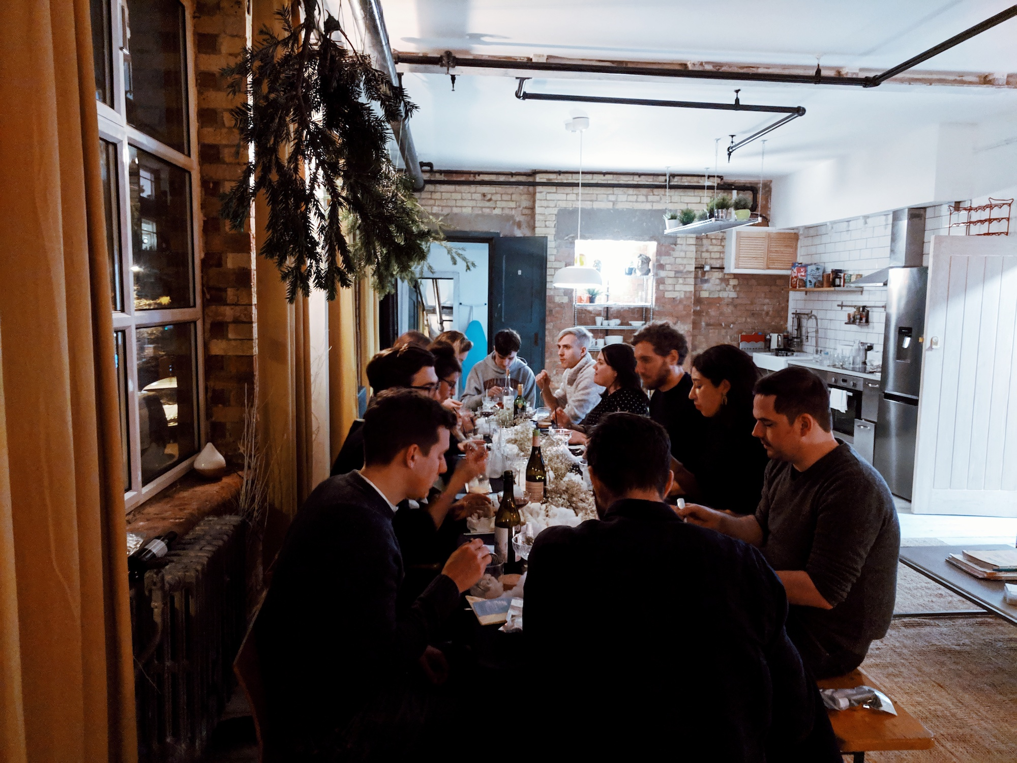 Secret Urban Suppers ~ Hackney, London: a Creative Melting-pot / Multisensory Supper Club in East London