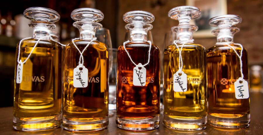 Blend your own Whisky with Chivas Regal