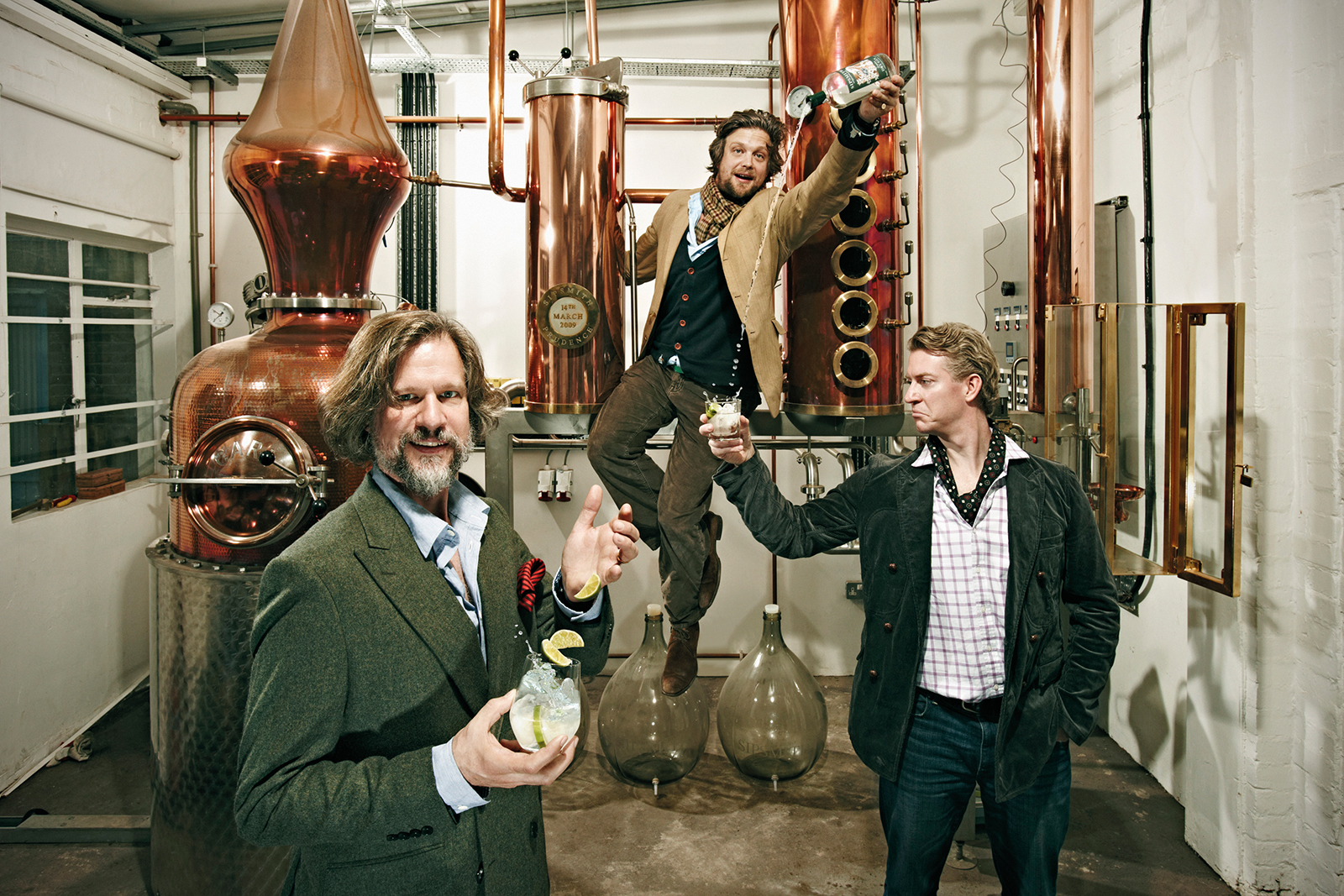 Sipsmith gin-spired supper club at Soane's Kichen