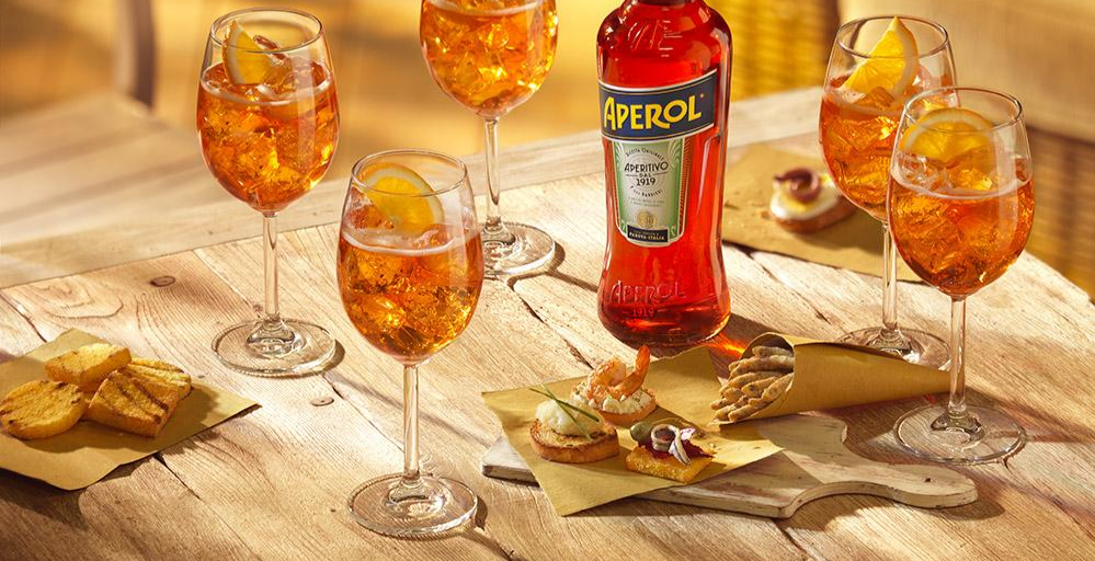 Cocktail Hour with Aperol & Campari