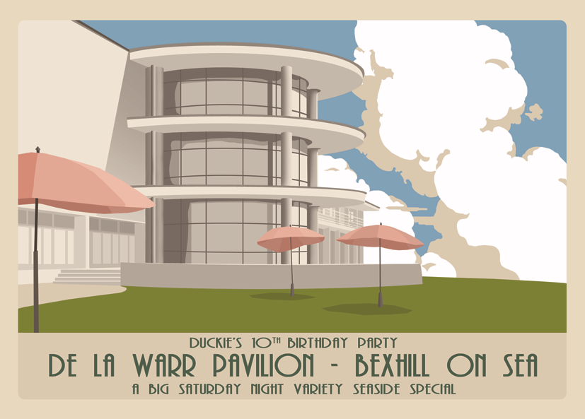 The great Gatsby Fair Bexhill-on-sea -  featuring Benoit Viellefon & His Orchestra