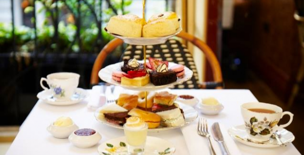 Afternoon Tea at Palm Court Brasserie
