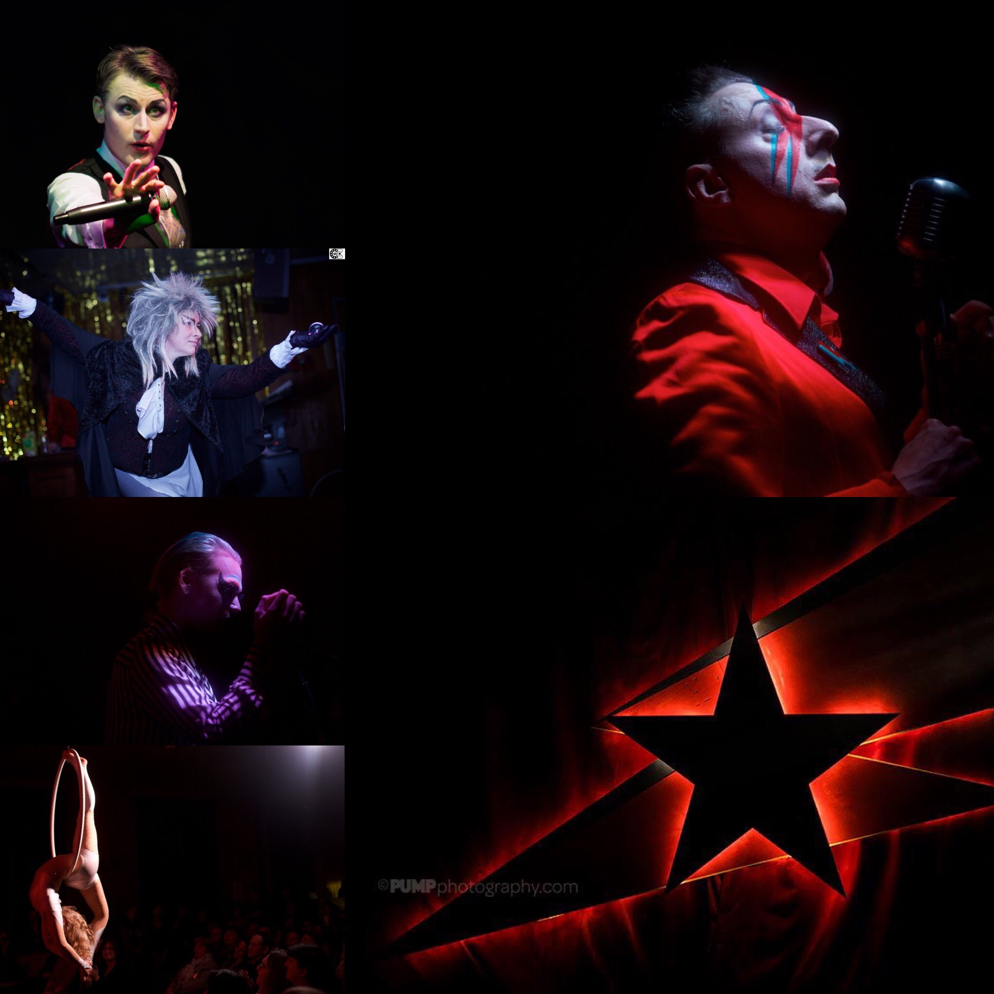 Ashes to Ashes V, a cabaret tribute to David Bowie