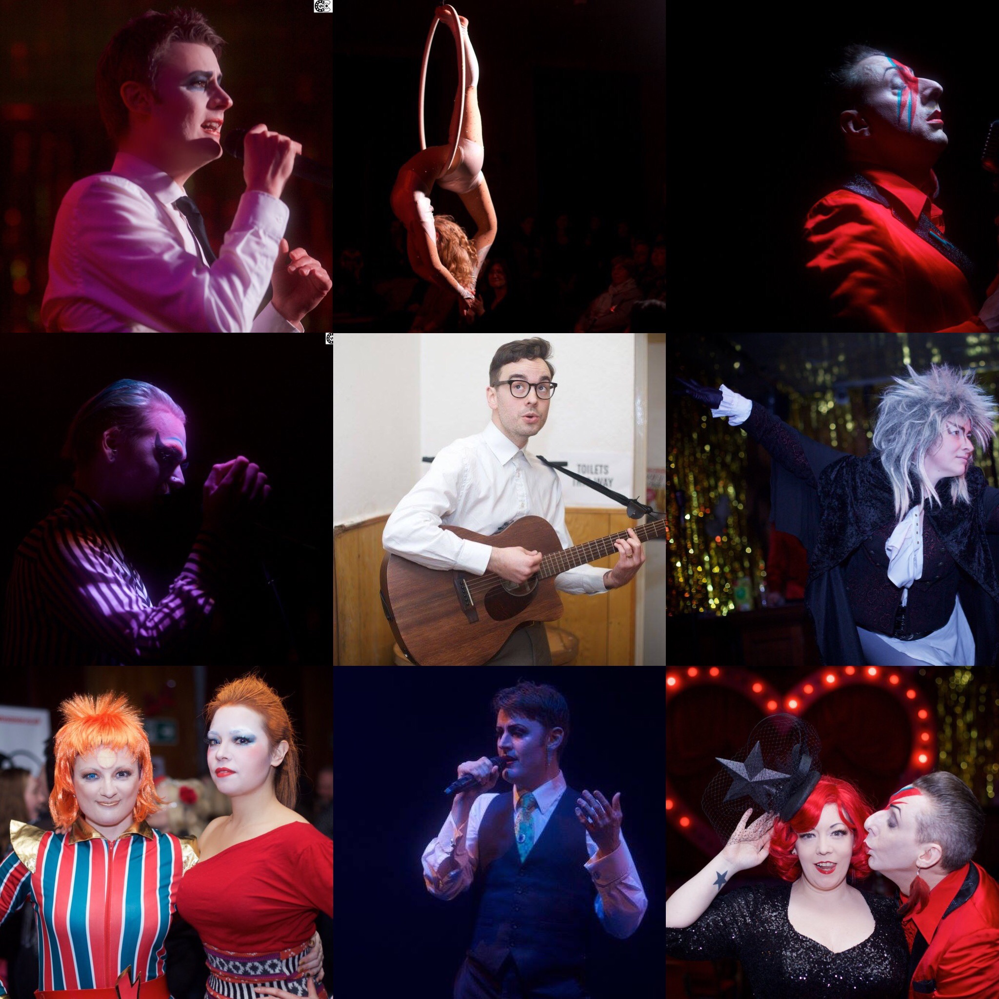 Ashes to Ashes IV, a cabaret tribute to David Bowie | Bethnal Green