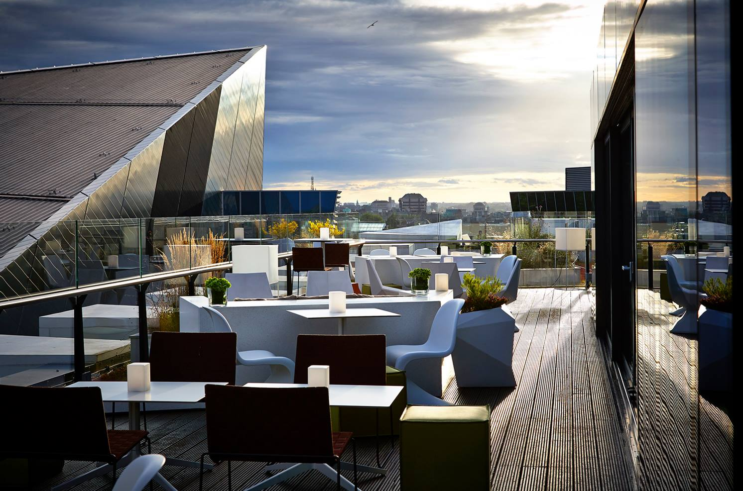Rooftop Bar and Terrace at The Marker Hotel