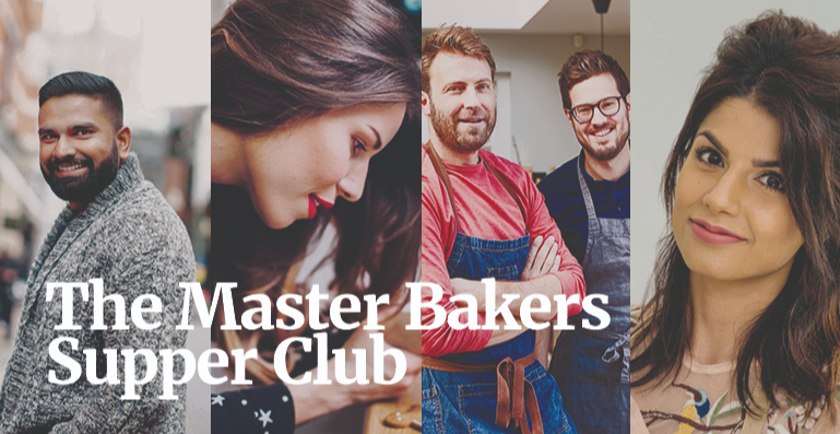 The Master Bakers Supper Club in support of CRUK