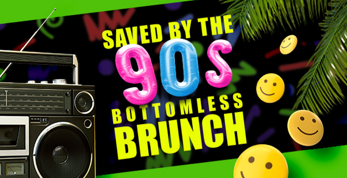 Saved By The 90s Brunch