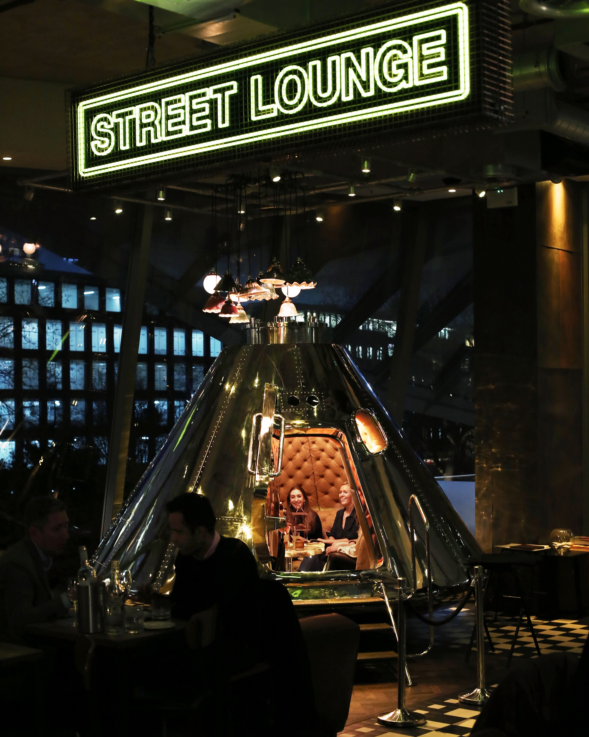 Street Lounge at Bread Street Kitchen
