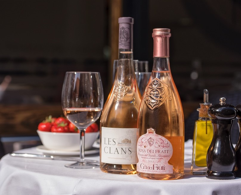 Franco's is Pretty in Pink - Rose Tasting & Party