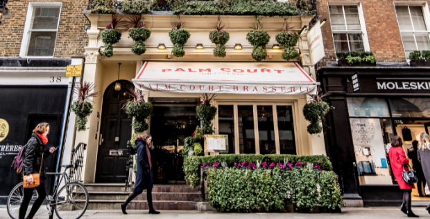 Palm Court Brasserie Gift Voucher