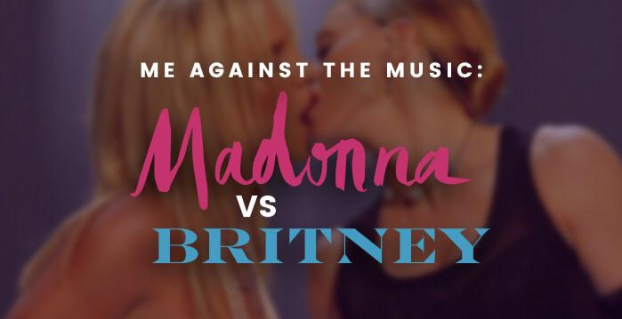 Me Against The Music: Madonna Vs Britney Brunch
