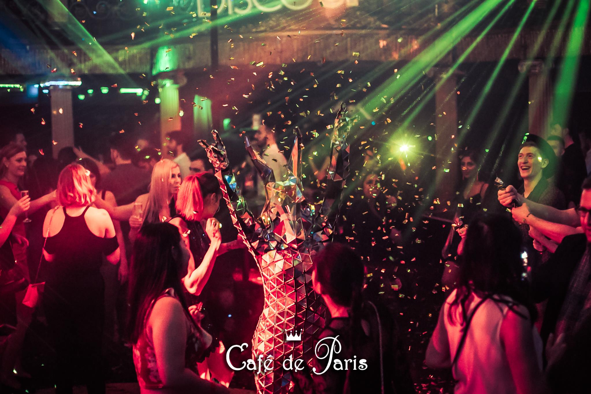 Cafe de Paris Christmas Variety Show Friday 29th November & Saturday 21st December