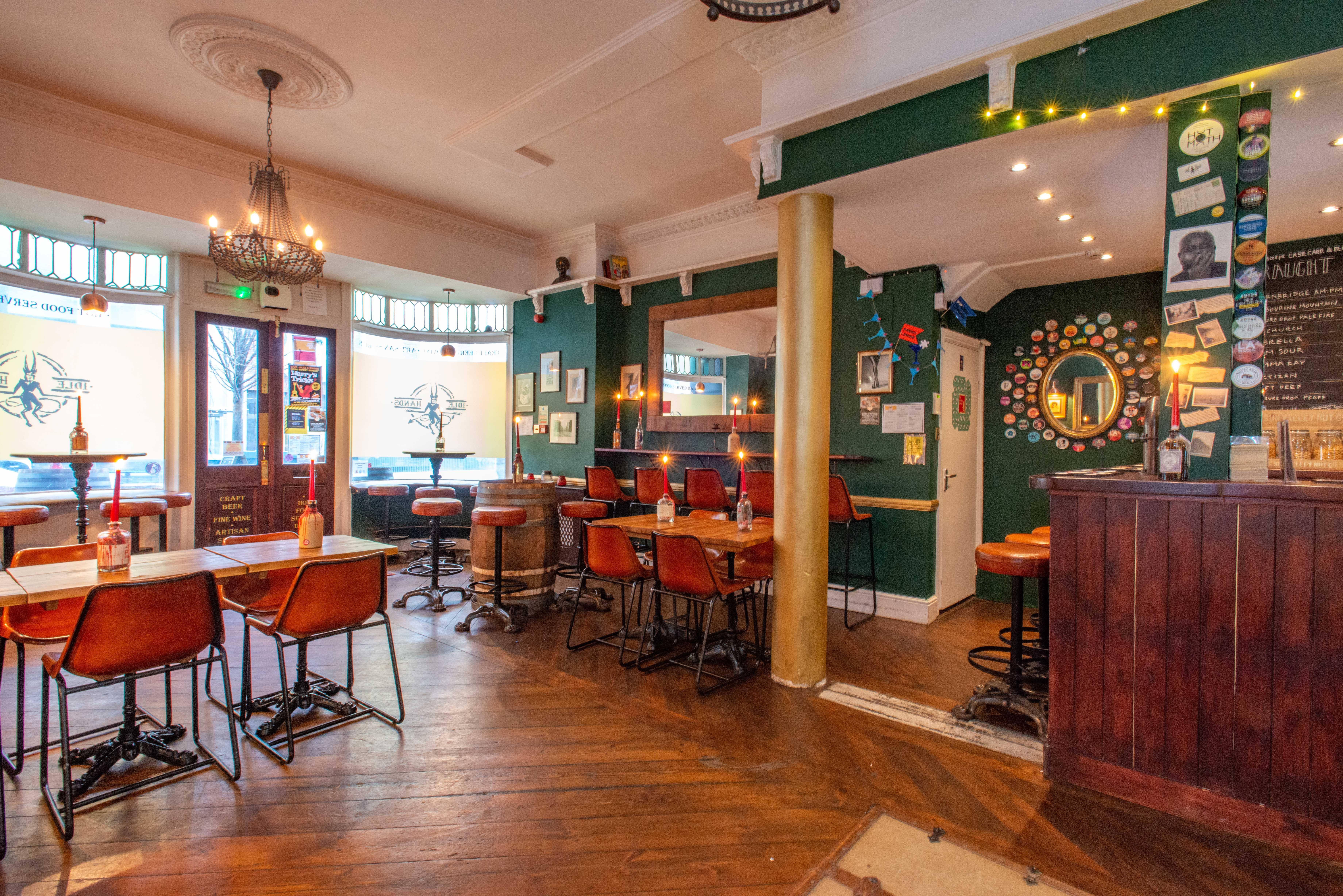Idle Hands   Brighton Pub Reviews   DesignMyNight