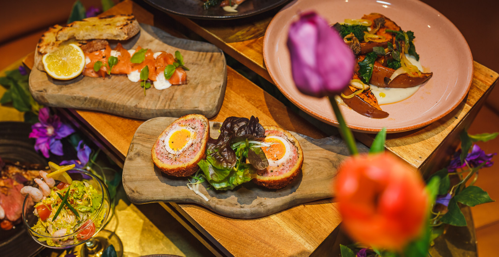 Express Lunch: Karma Sanctum Soho Hotel