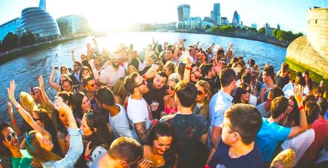 Summer Boat Party on the Thames I Byday Bynight 5th Birthday