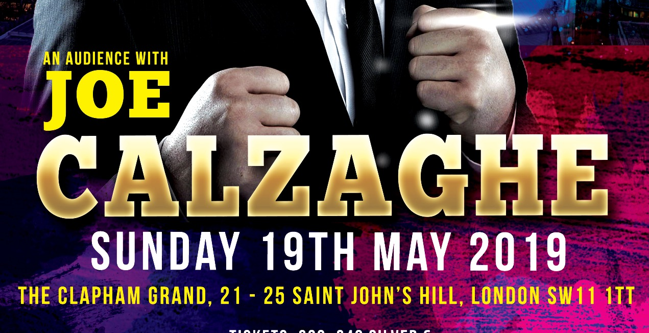 An Audience With joe Calzaghe