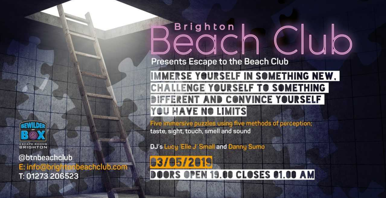 Escape To The Beach Club | Beachfront, Brighton Pop-Up Reviews