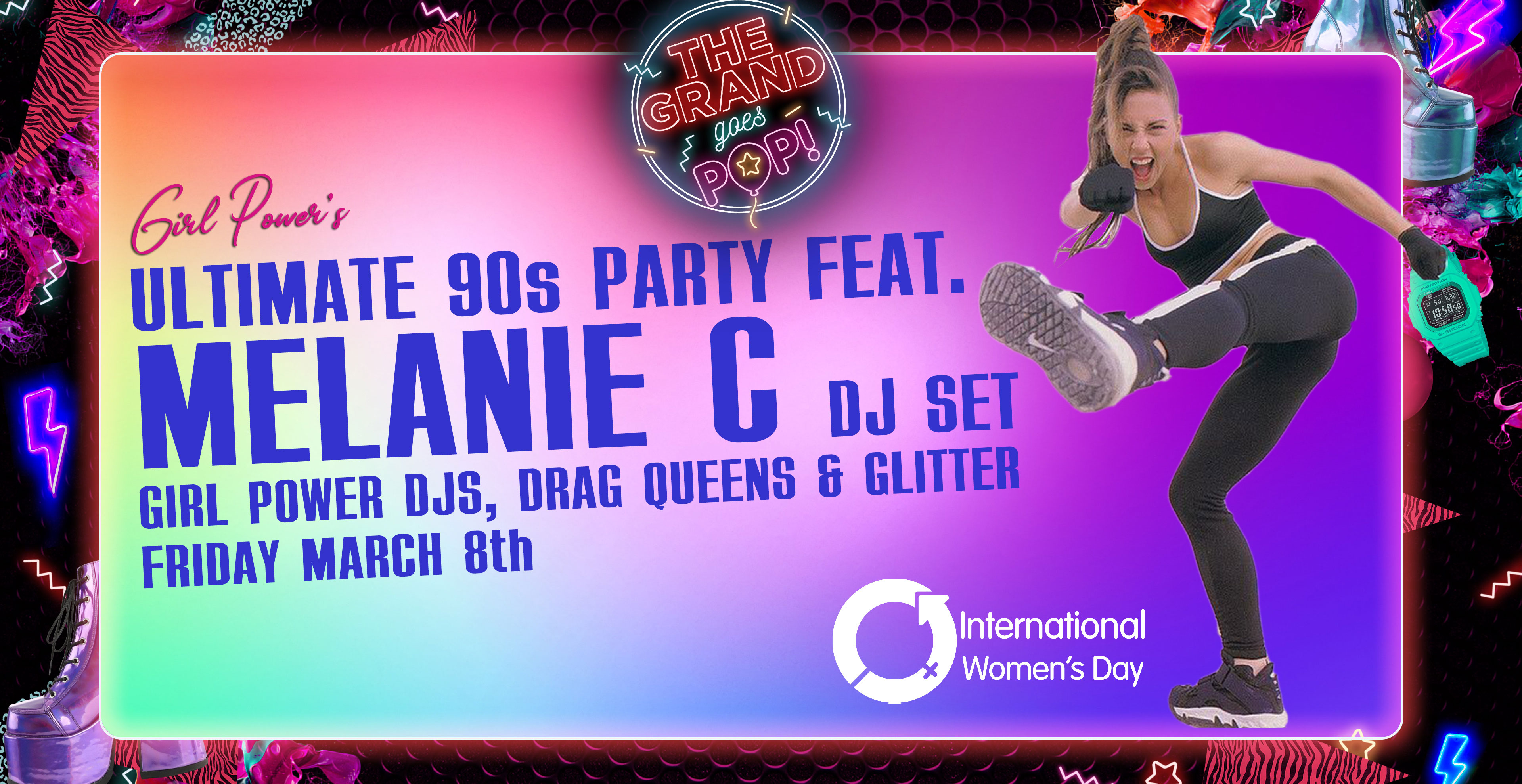 Melanie C DJ Set: An Ultimate 90s Party