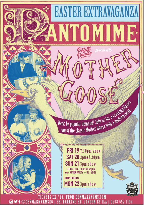 Mother Goose Easter Panto!