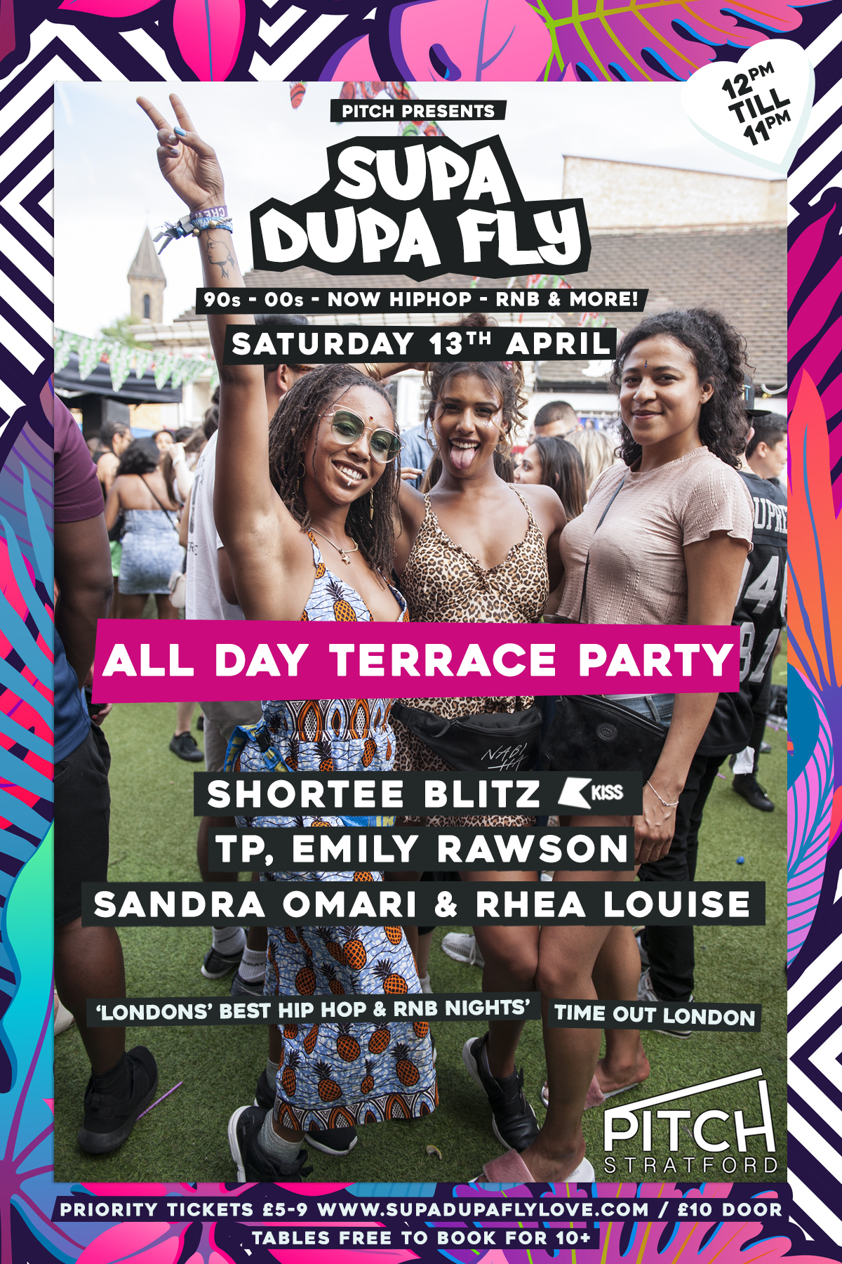 Pitch Presents x Supa Dupa Fly x All Day Terrace Party