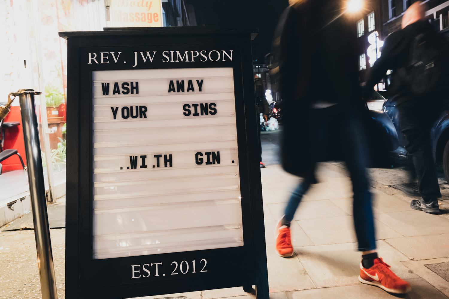 Bottomless NYE at Reverend JW Simpson