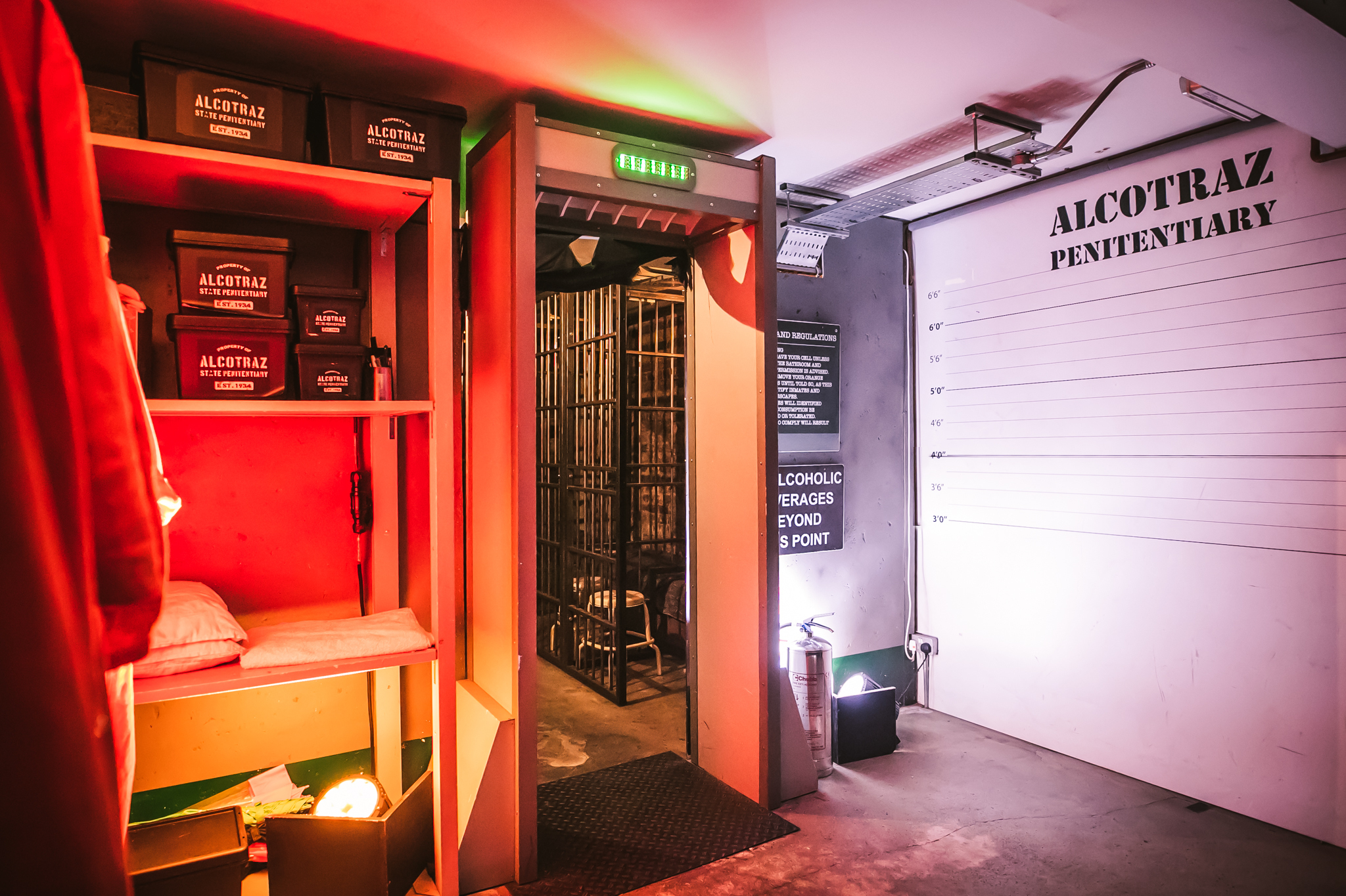 Alcotraz - Private Hire