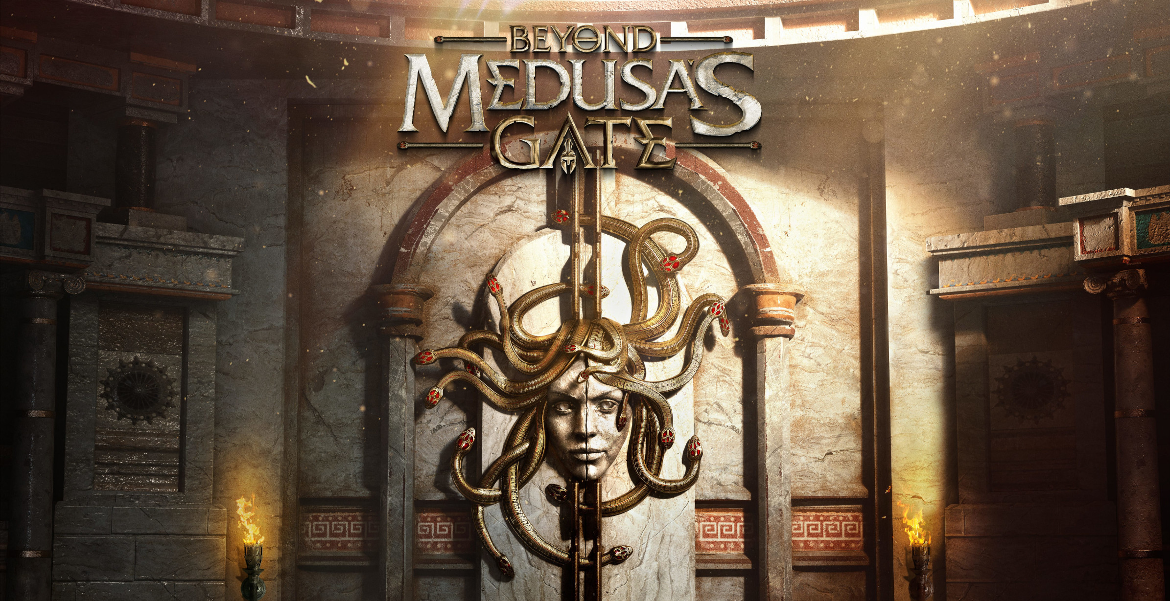 Beyond Medusa S Gate Set In The World Of Assassin S Creed