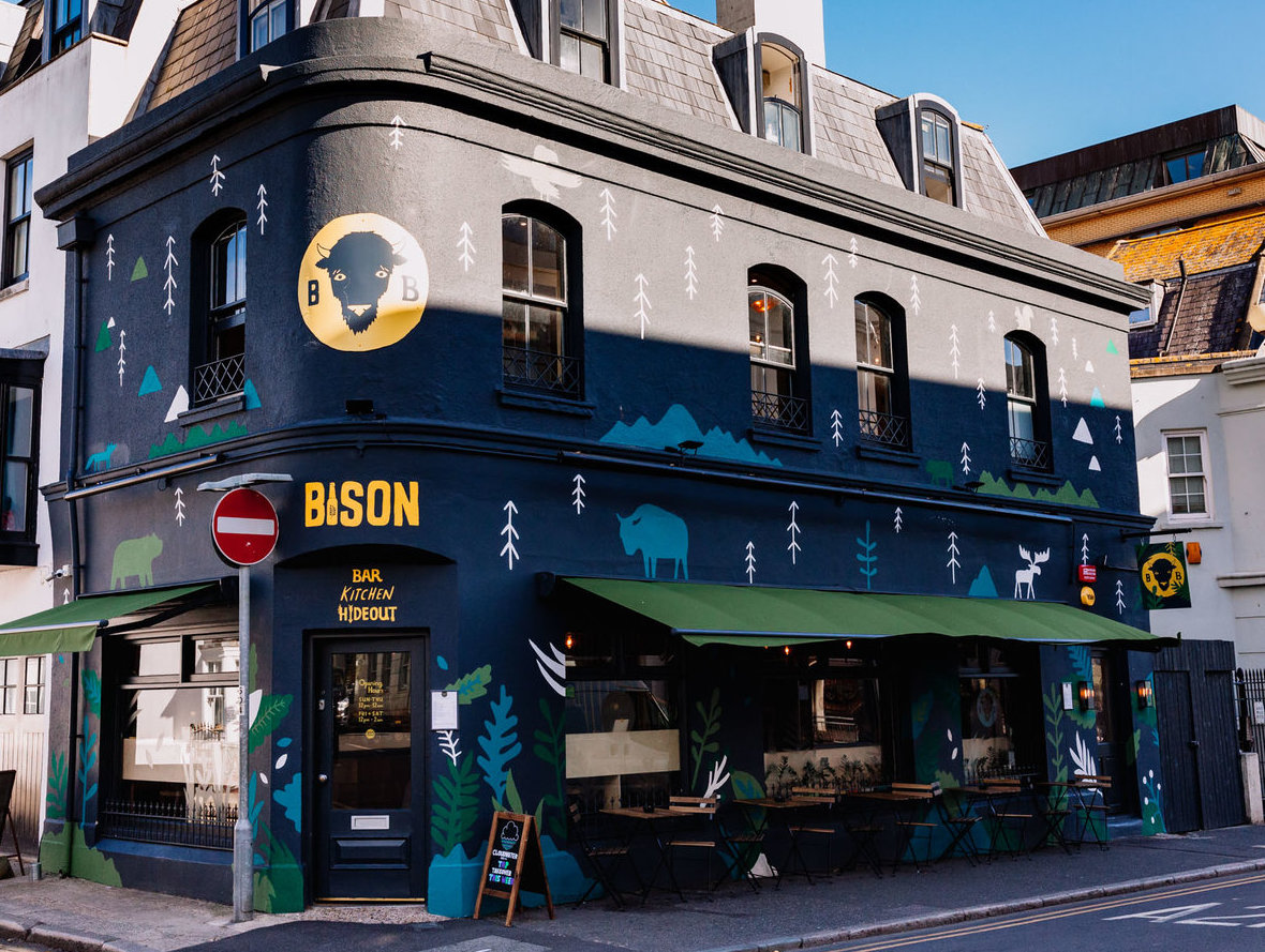 Bison Beer North Laine