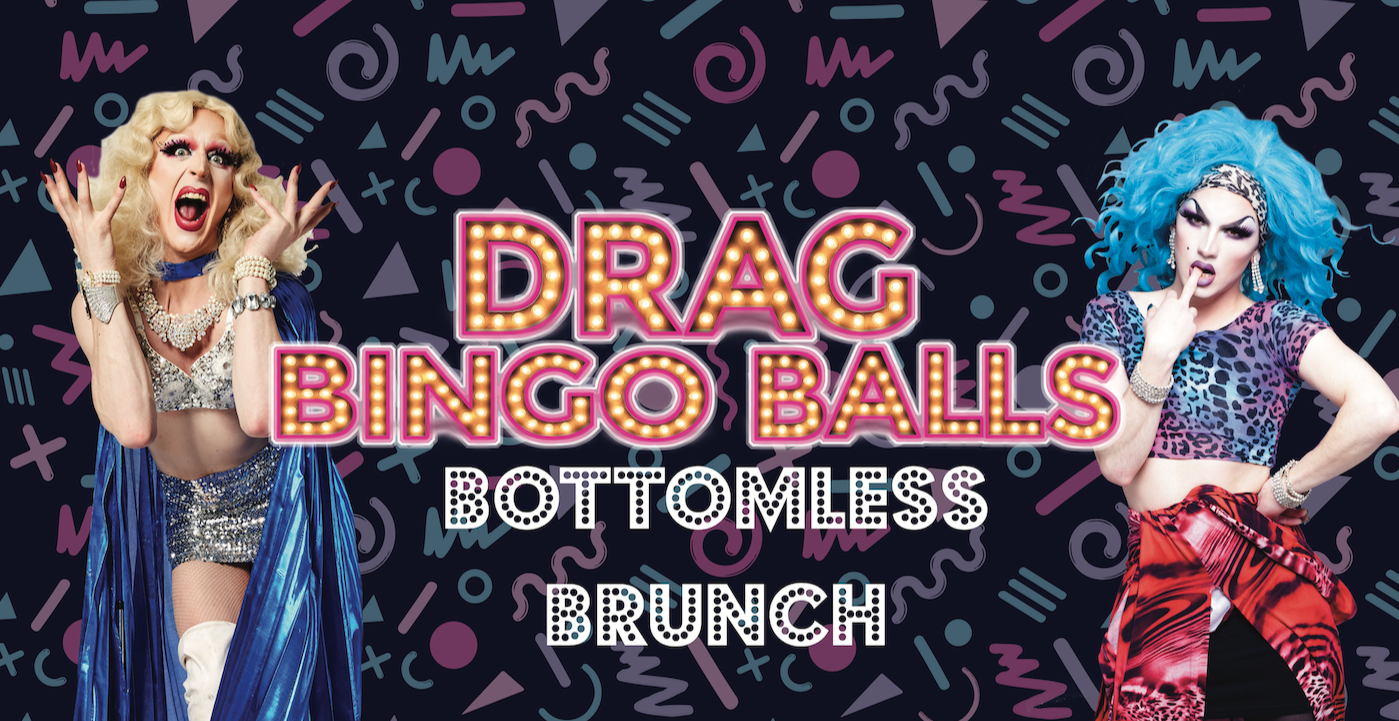 Drag Bingo Balls Bottomless Brunch