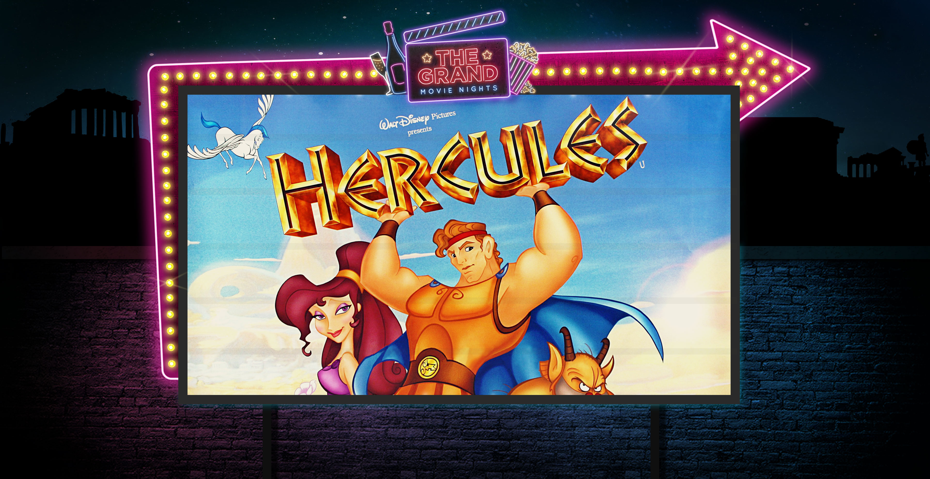 Hercules Movie Night