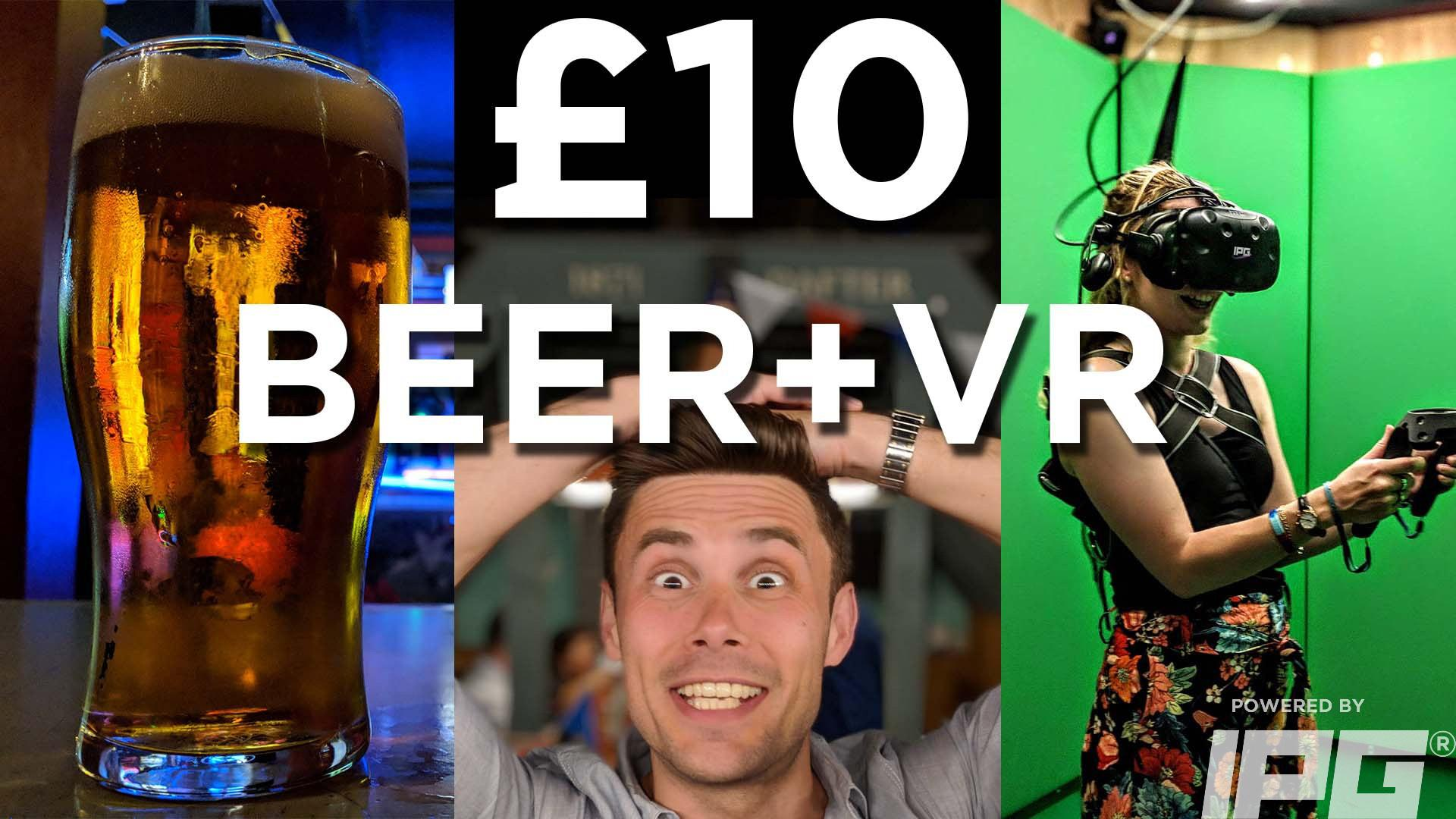 IPG VR £10 UNLIMITED VIRTUAL REALITY WEDNESDAYS