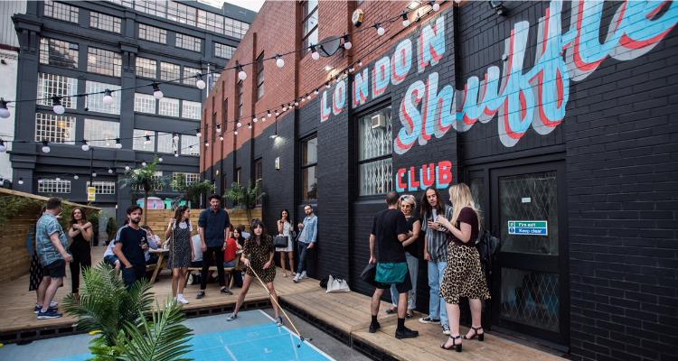 London Shuffle Club DesignMyNight