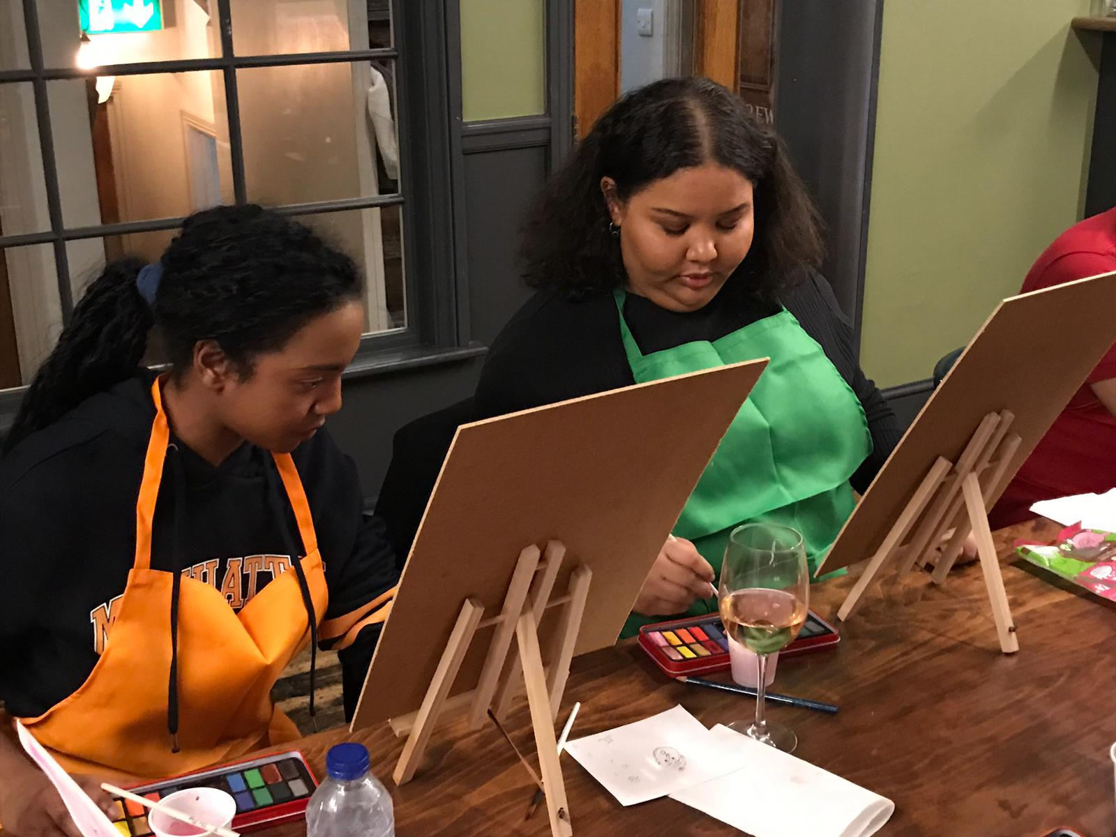 Art Uncorked: night of painting, fine wine and artisanal cheeses