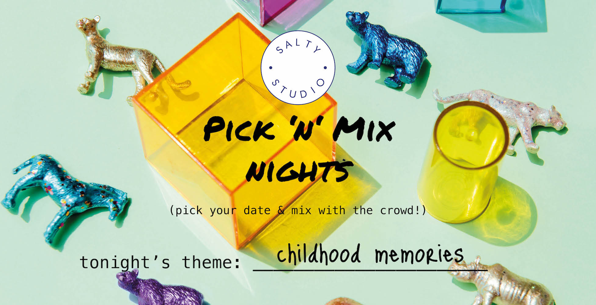 Salty Studio's Pick 'n' Mix supper club nights