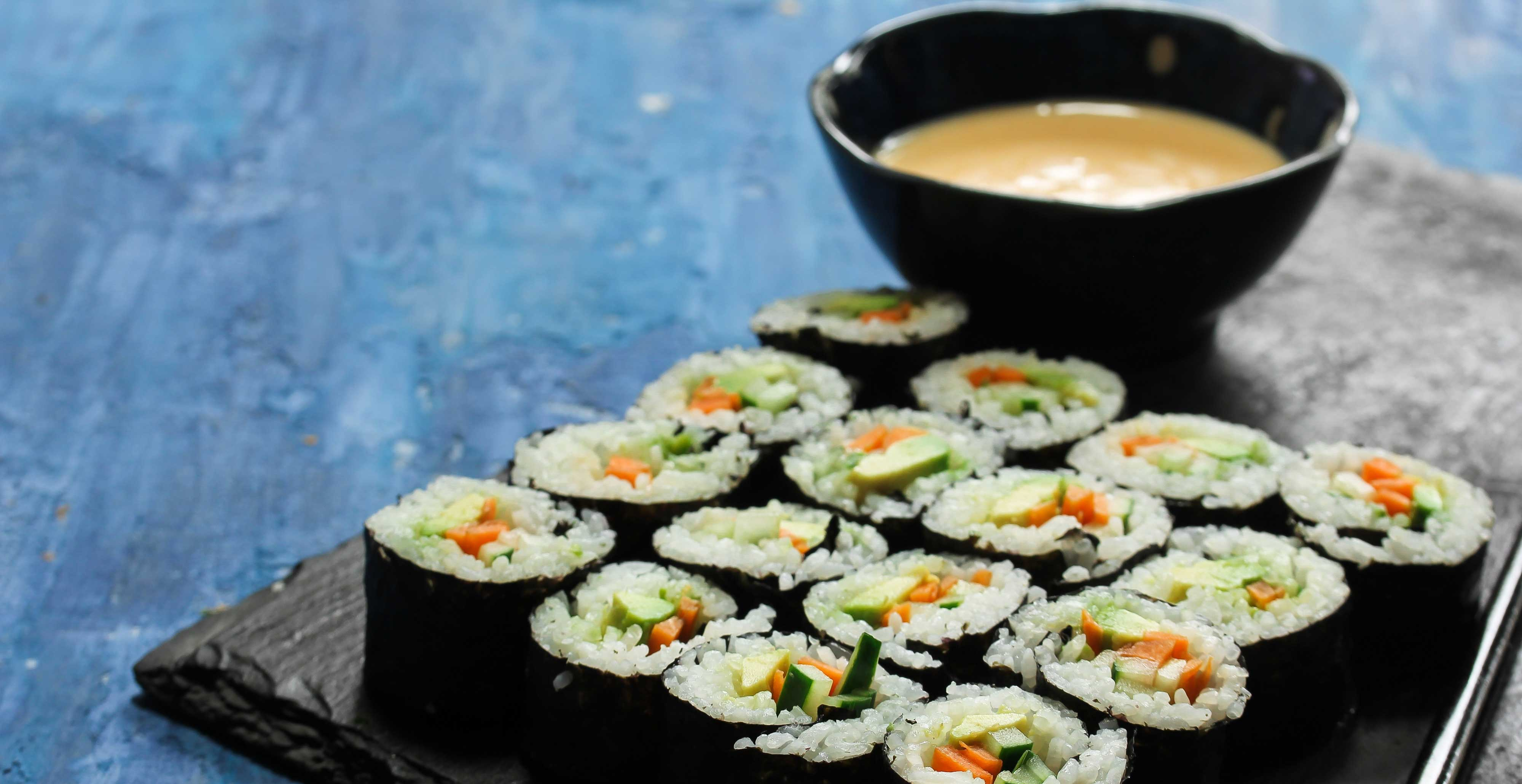 Create with Japan Centre - Vegan Sushi Cooking Masterclass
