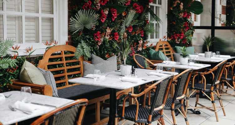 Dalloway Terrace Spring 2019 Theme
