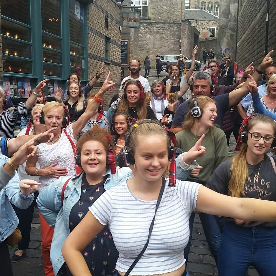 West End Walking Silent Disco